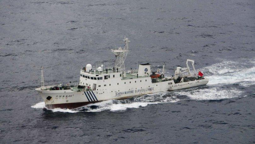 Tartışmalı bölgede Çin'e ait gemiler 18.kez Japonya kara sularına girdi