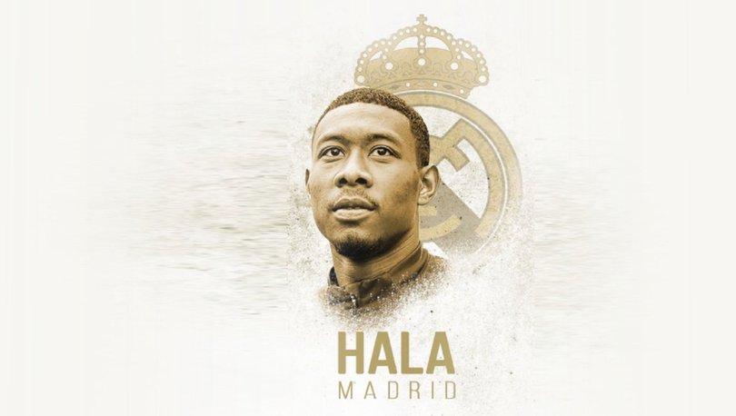 David Alaba resmen Real Madrid'de!