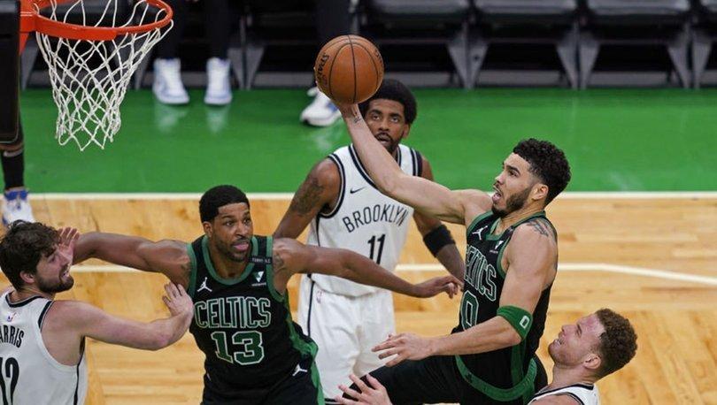 NBA'de Celtics, Tatum'un 50 sayısıyla serideki ilk galibiyetini aldı