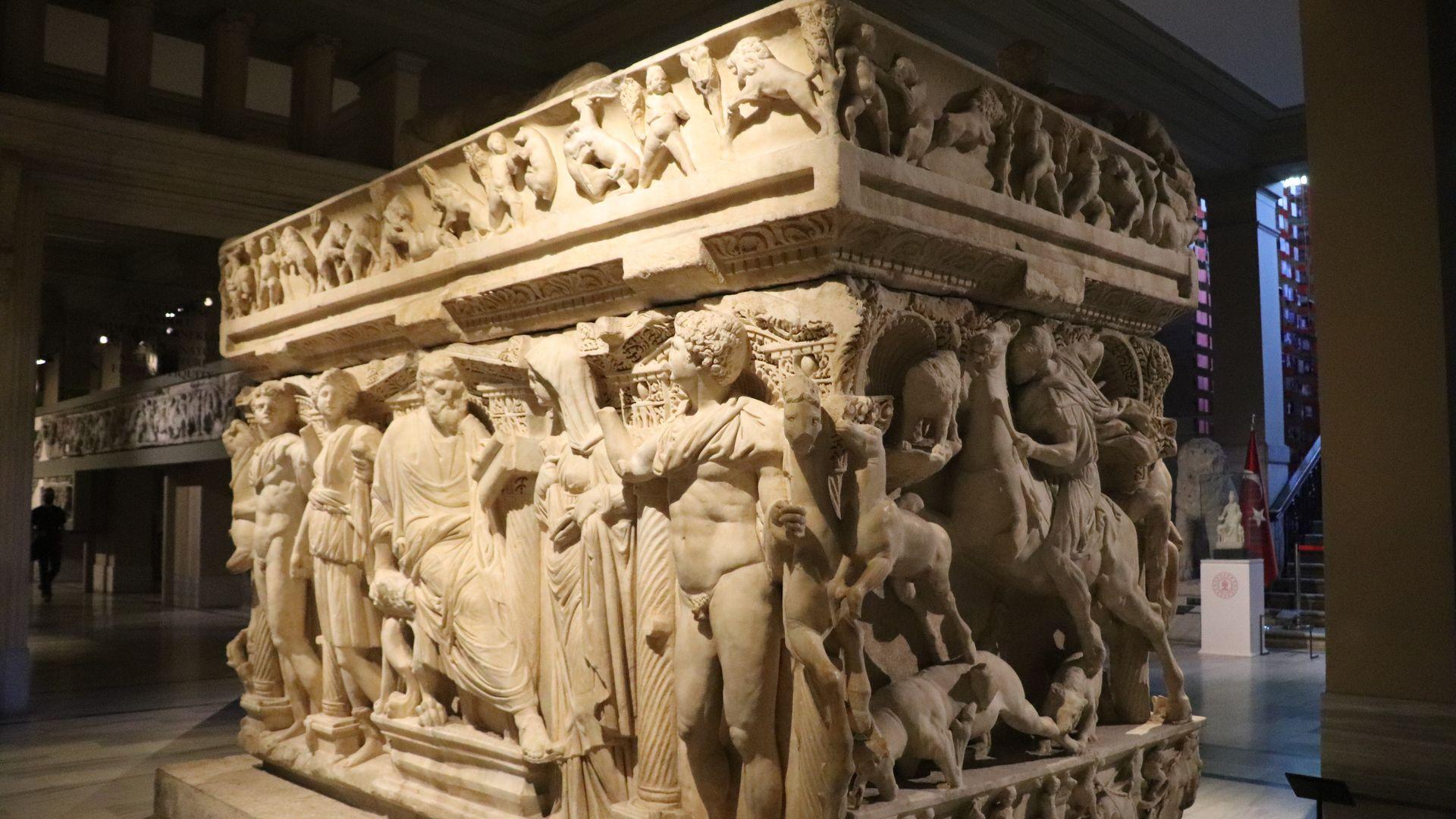 İstanbul Arkeoloji Müzeleri'nde yaklaşık envanterli 800 bin eser bulunuyor