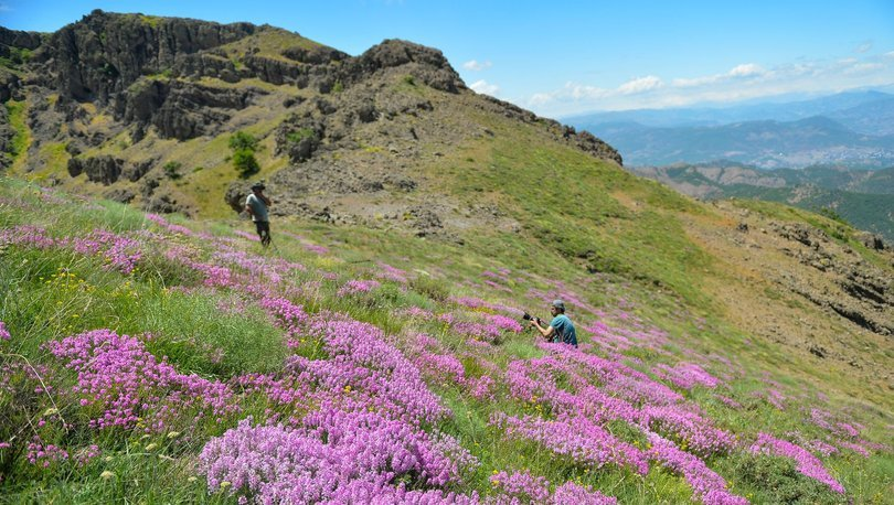 Kırklar Dağı manzarasıyla doğa ve fotoğraf tutkunlarını kendine çekiyor