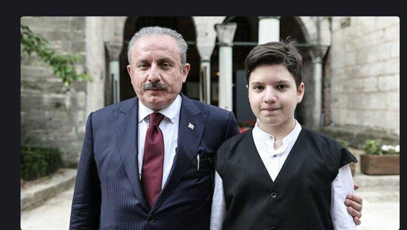 TBMM Başkanı Şentop'un oğlu Ömer Asım, hafızlık eğitimini tamamladı