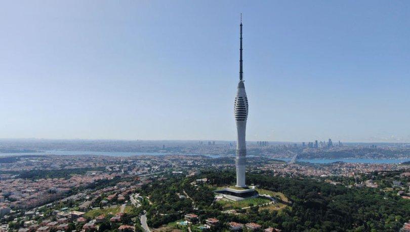 AVRUPA'NIN EN YÜKSEĞİ! Son dakika: 587 metrelik Çamlıca Kulesi bugün açıldı! - VİDEO