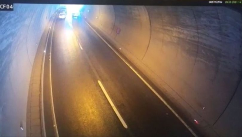 Tünele ters girince facia yaşandı! Son dakika haberleri