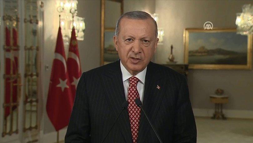 Cumhurbaşkanı Erdoğan'dan İstanbul'un Fethi'nin 568. yılı mesajı - Son dakika haberleri