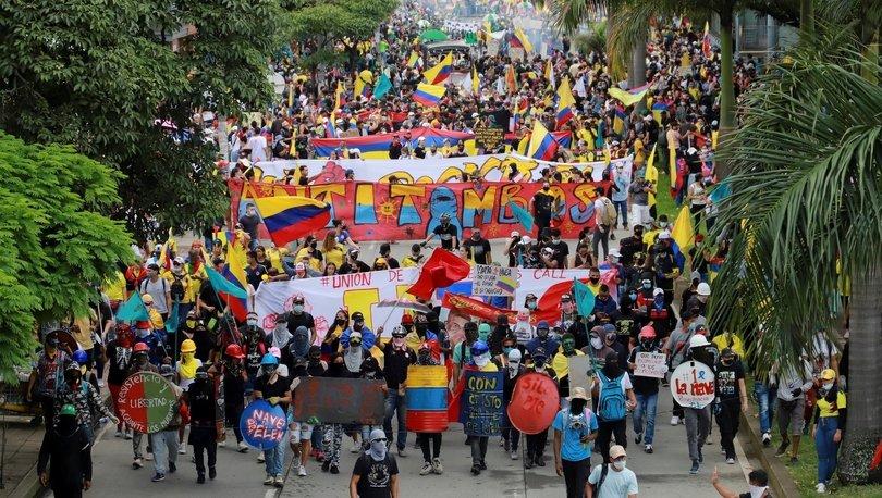 Kolombiya: Protestoculara karşı ordu sokaklarda görevlendirildi