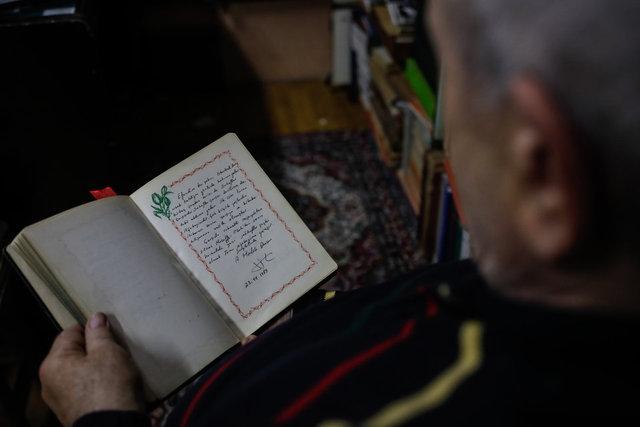Sahaflar Çarşı'nın 69 yıllık 'Seyir Defteri'