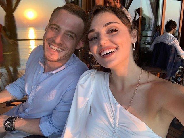 Hande Erçel'i utandıran 'Kerem Bürsin' sorusu - Magazin haberleri