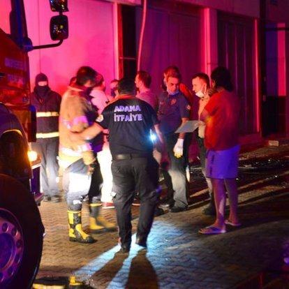 Adana'da evde çıkan yangında 1 kişi öldü, 3 kişi yaralandı   Gündem  Haberleri