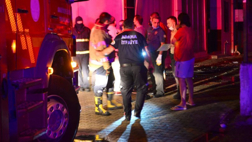 Adana'da evde çıkan yangında 1 kişi öldü, 3 kişi yaralandı