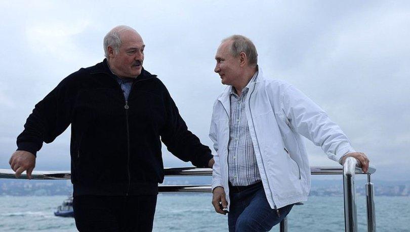 SON DAKİKA: Rusya Devlet Başkanı Putin, Belarus Cumhurbaşkanı Lukaşenko ile uçak krizini görüştü