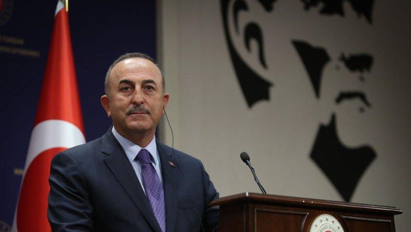 SON DAKİKA: Dışişleri Bakanı Mevlüt Çavuşoğlu, Yunan