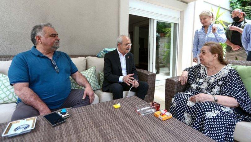 Kılıçdaroğlu Özal ailesini ziyaret etti