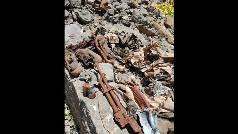 SON DAKİKA: Mühimmatın yanında insan kemikleri bulundu