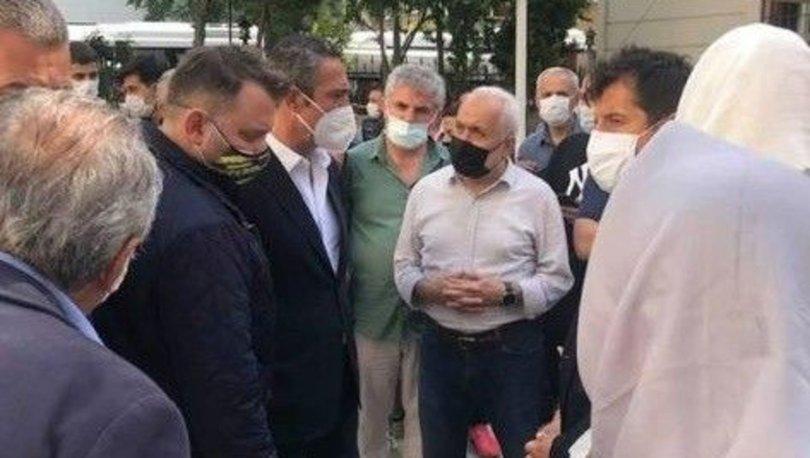 Ali Koç, Emre Belözoğlu'nu acı gününde yalnız bırakmadı