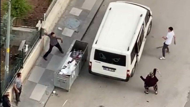 Çocuklarını görmeye gitti, minibüsü taşlandı - Haberler