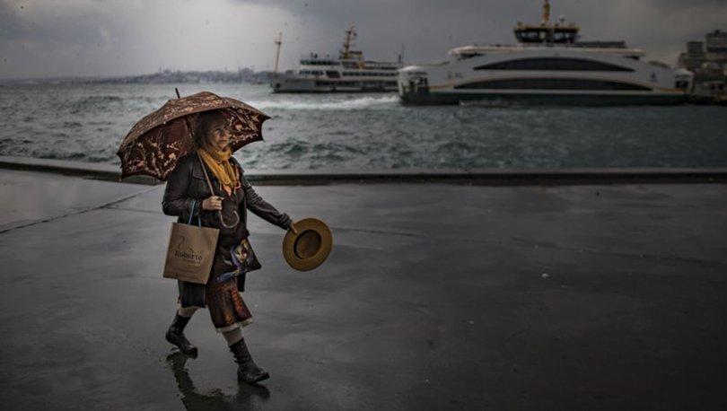 SAĞANAK! Son dakika HAVA DURUMU 31 Mayıs : Sıcaklık düşüyor, yağmur geliyor