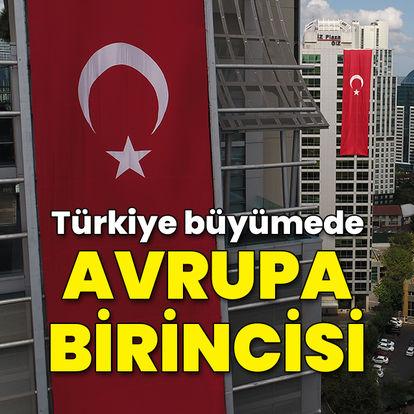 Türkiye büyümede Avrupa'nın lideri