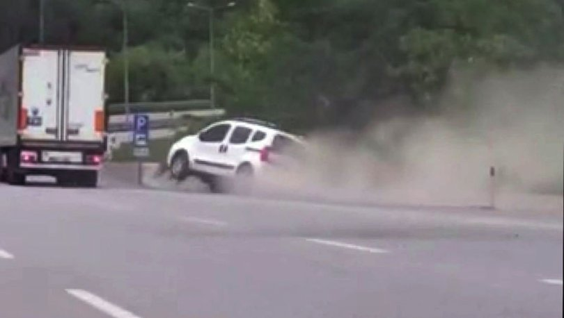 Son dakika: Samsun-Ankara yolunda yol verme tartışması kazayla bitti
