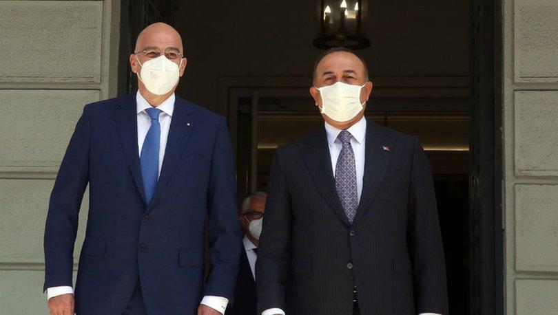 SON DAKİKA: Bakan Mevlüt Çavuşoğlu Yunanistan'da! Türkiye-Yunanistan aşı sertifikasında anlaştı! - HABERLER