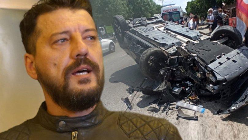 İlker Aksum'un kaza anı ortaya çıktı! Motosiklete çarpmamak için... - Magazin haberleri