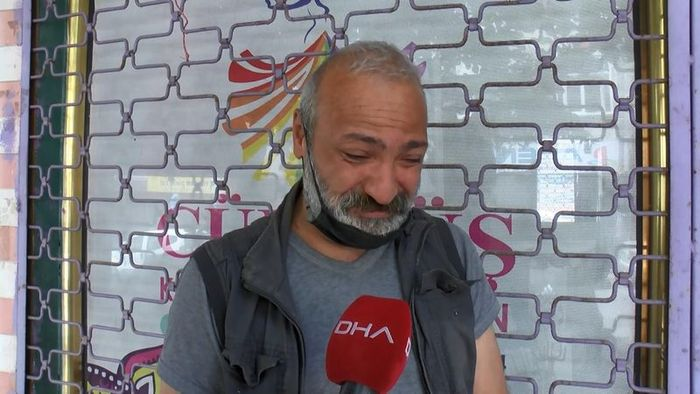 Hayatını kaybeden Abdülsamet Kurtay'ın babası Ahmet Kurtay