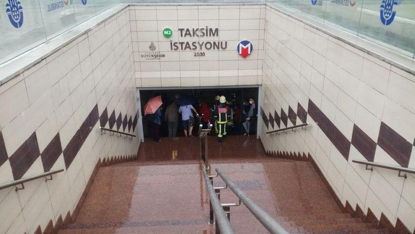 Metro'dan açıklama: Taksim istasyonu kapatıldı
