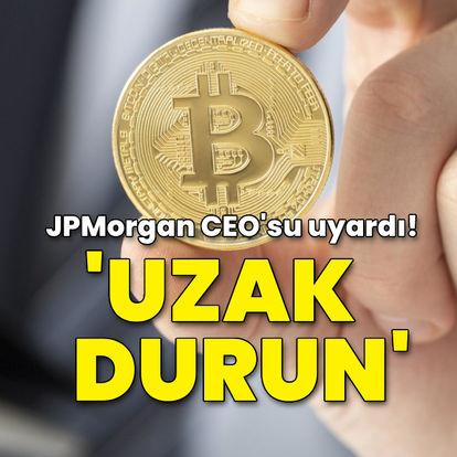 SON DAKİKA! JPMorgan CEO'sundan Bitcoin uyarısı: Uzak durun -Kripto para haberleri