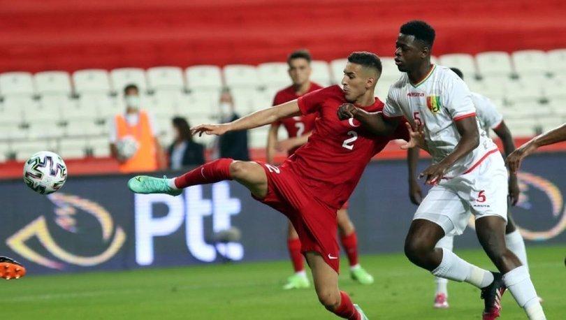 Türkiye Gine maçı - İlk 11'de 7 değişiklik