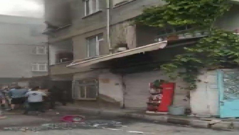 Yangın binaya sıçrayınca balkondan atladı! - Haberler