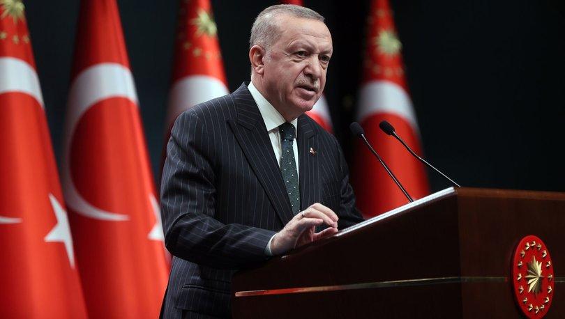 SON DAKİKA: Tek gün kısıtlama! Cumhurbaşkanı Erdoğan yeni kabine toplantısı kararlarını açıkladı