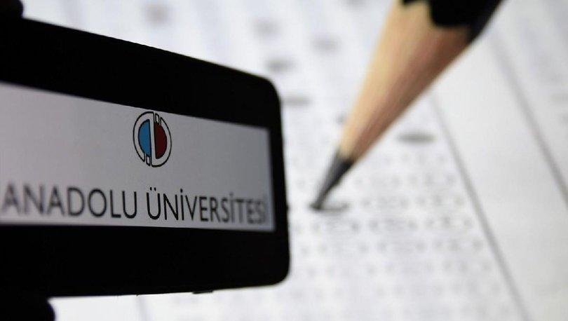 Anadolu Üniversitesi AÖF sınav giriş ekranı TIKLA! AÖF bahar dönemi final sınav tarihleri