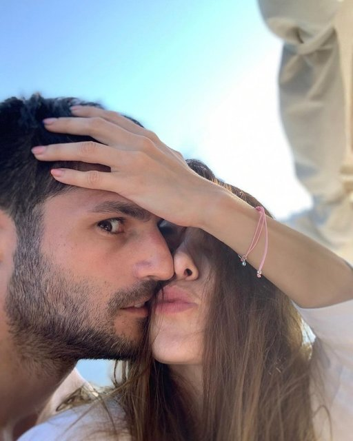 Özge Gürel'den Serkan Çayoğlu'na: Aşırı seviyorum - Magazin haberleri
