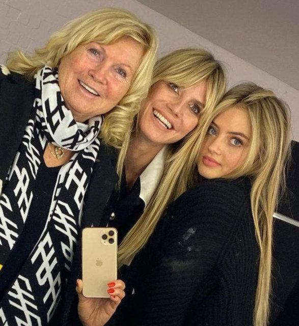 Heidi Klum kızı Leni için babasına dava açtı - Magazin haberleri