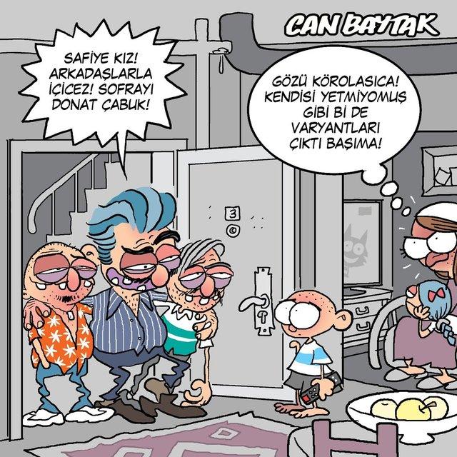 Can Baytak karikatürleri (Haziran 2021)