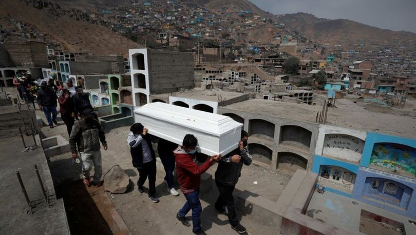 Peru'da Kovid-19 salgınında ölenlerin sayısının açıklanandan 3 kat yüksek olduğu bildirildi
