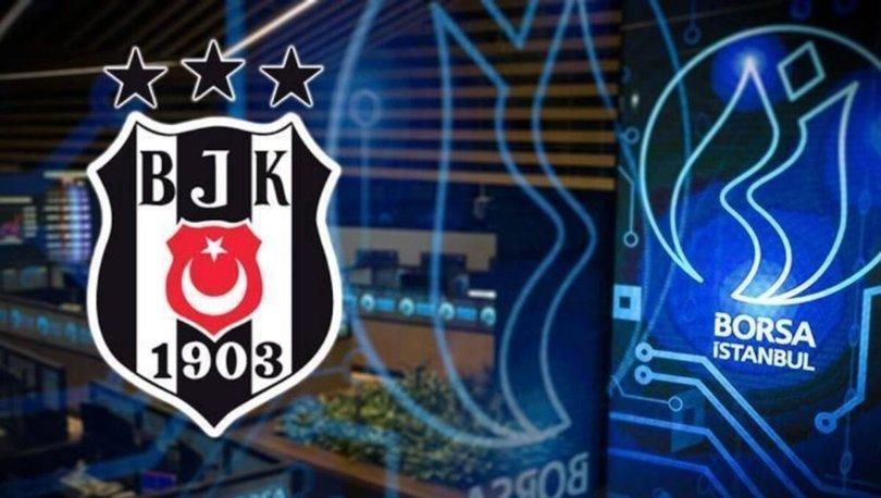 Süper Lig'in kazananı Beşiktaş, borsada kayıpları oynadı