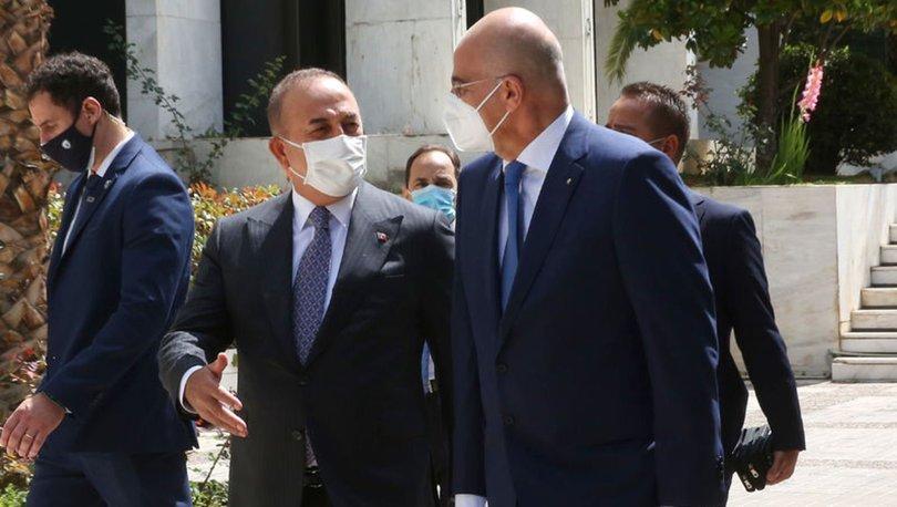 SON DAKİKA: Yunan basını Bakan Çavuşoğlu ile Dendias'ın görüşmesini değerlendirdi: Samimi bir atmosfer!