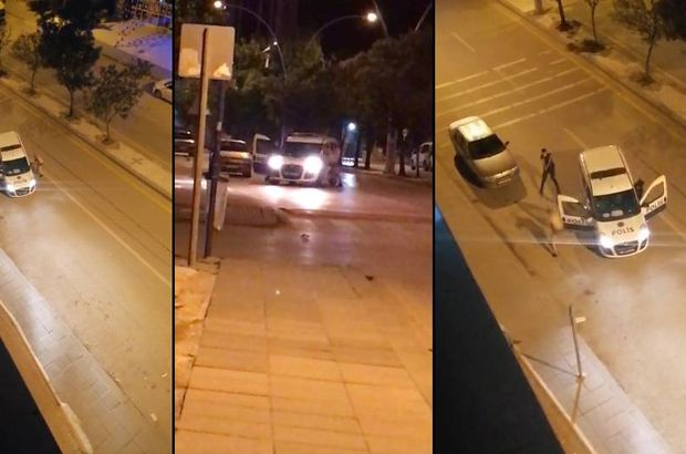 Polise saldıran suç makinesi vurularak durduruldu