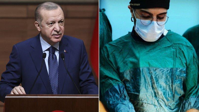 Cumhurbaşkanı Erdoğan, bıçaklanan doktor ile görüştü - Haberler