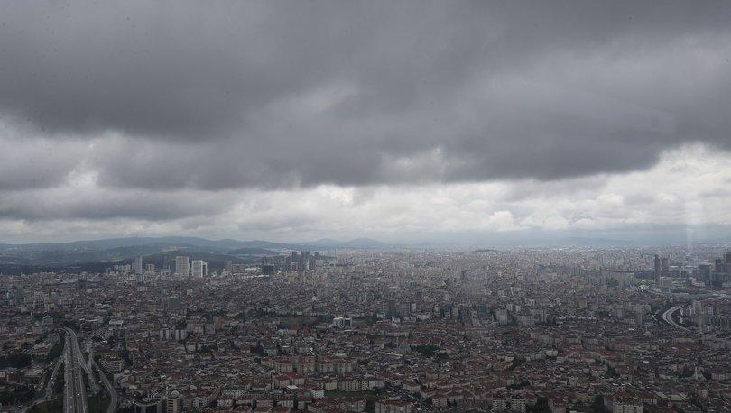 SON DAKİKA: Kara bulutlar Çamlıca Kulesi'nden görüntülendi - Haberler