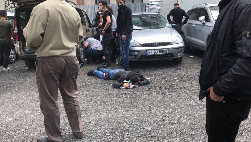 Son dakika haberi Bakırköy Adliyesi karşısında silahlı kavga!