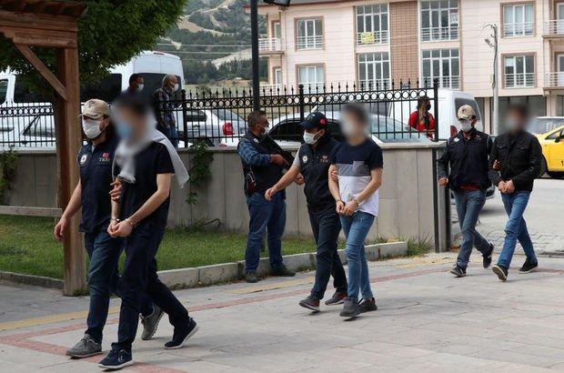 Burdur'da FETÖ operasyonu