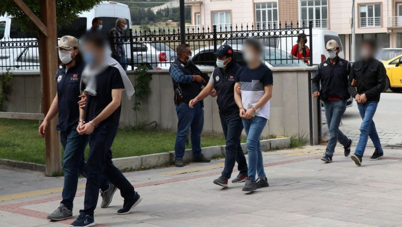 Burdur merkezli FETÖ operasyonunda 6 tutuklama