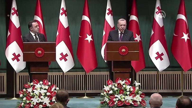 Cumhurbaşkanı Erdoğan'dan son dakika açıklaması: Gürcistan'ın toprak bütünlüğü... - Haberler