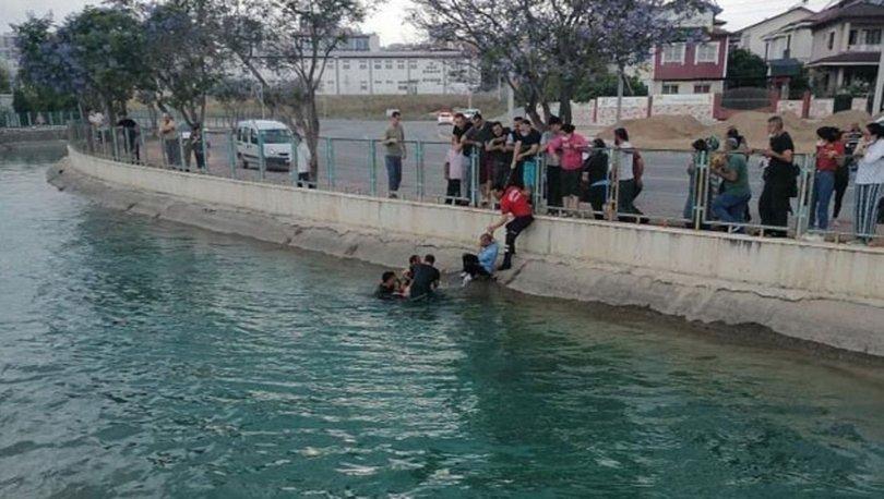 Sulama kanalına düşen ikizlerden biri hayatını kaybetti
