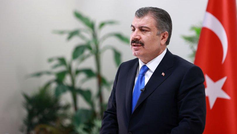 FLAŞ AÇIKLAMA! Son dakika: Sağlık Bakanı Fahrettin Koca'dan