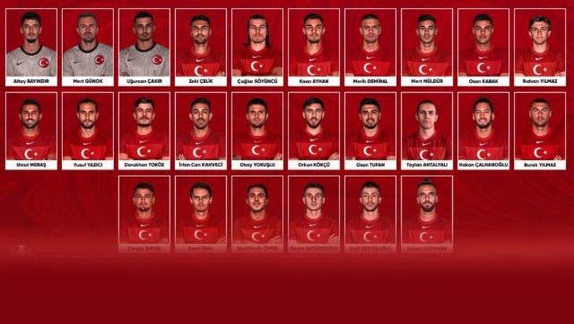Son dakika! A Milli Takım'ın EURO 2020 kadrosu belli oldu! 4 isim çıkarıldı