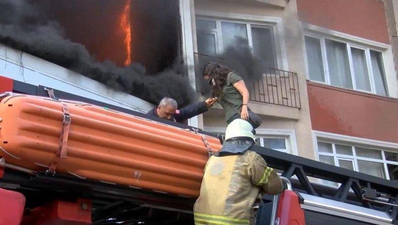 SON DAKİKA! Beyoğlu'nda yangın paniği! Fabrikada başladı...