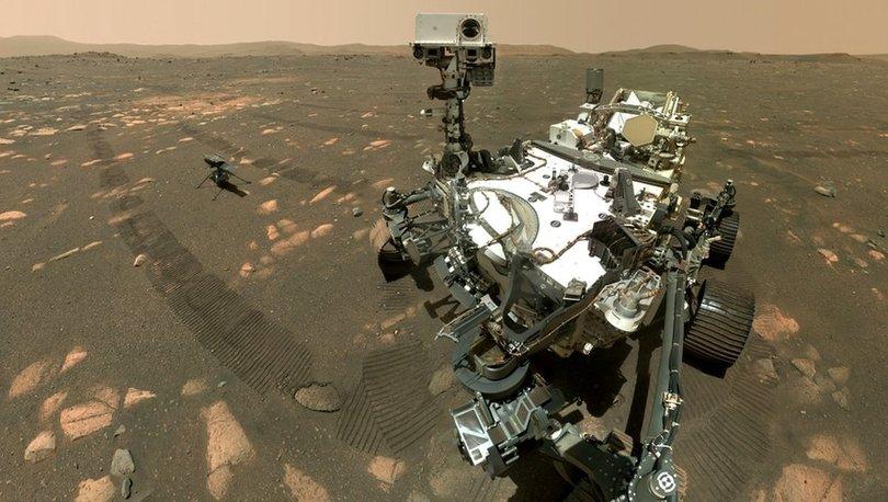SON DAKİKA: NASA'nın uzay aracı Perseverance'ın Kızıl Gezegen'deki ilk 100 gününden fotoğraflar